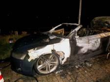 Gestolen Audi brandt uit in Vlijmen