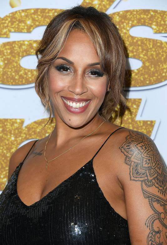 Glennis Grace in Hollywood.