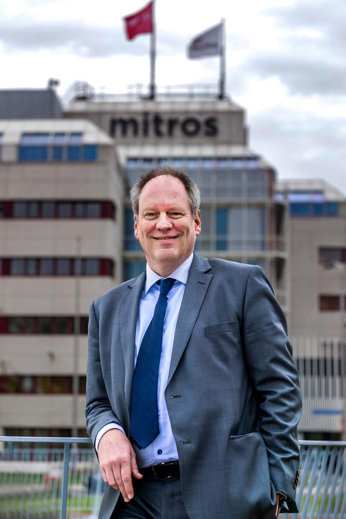 -Henk Peter Kip, directeur van de Utrechtse woningcorporatie Mitros