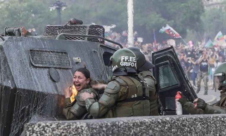 Het sociaal protest is op 18 oktober losgebarsten in Chili.