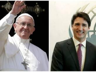 Paus Franciscus ontvangt Canadese premier Justin Trudeau eind mei in Vaticaan
