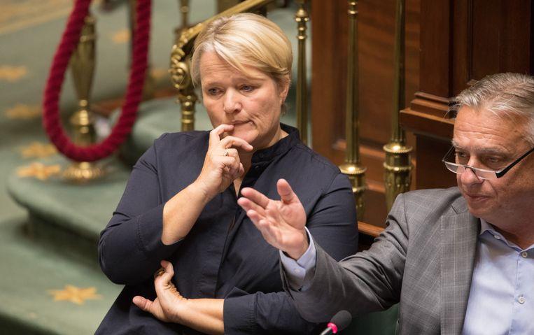 Federaal minister van Werk, Nathalie Muylle (CD&V).