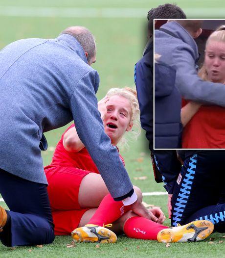 Horrorblessure zorgt voor flashback bij Van Es:  'Geschreeuw ging door merg en been'