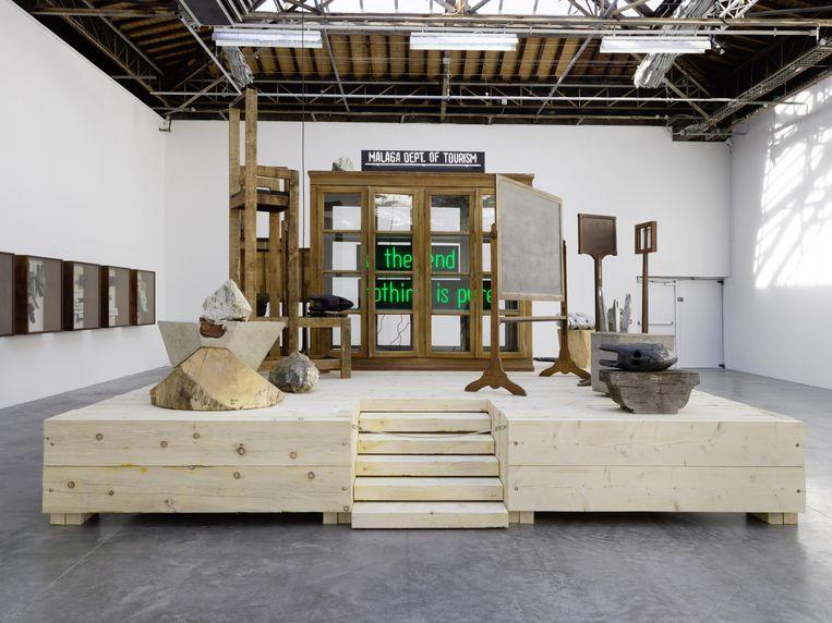 Expositie Amalgam vanTheaster Gates, Palais de Tokyo, 2019. Beeld André Morin