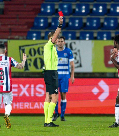 Rode kaart Wriedt geseponeerd, Willem II-spits kan meedoen tegen Ajax