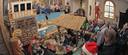 Ieder jaar weer keert de bewegende kerststal terug in de St. Annakapel in Koolwijk.