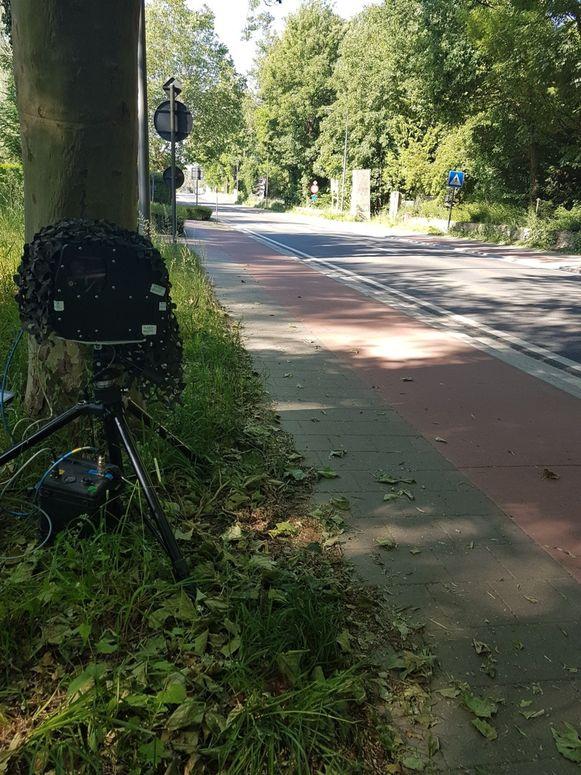 De politie van Zaventem hield zondagochtend een flitsactie op de Mechelsesteenweg in Sterrebeek.