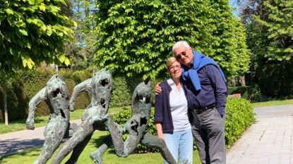 """Loodzwaar bronzen beeld van Jan Desmarets gestolen uit voortuin: """"Ook wandelaars en fietsers missen het beeld"""""""