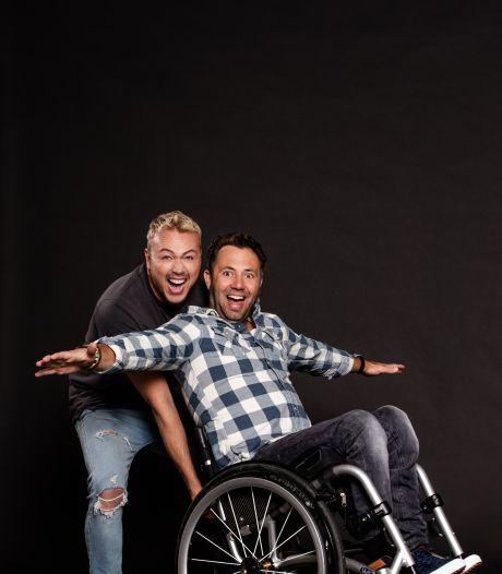 Jamai helpt Thomas (36) uit Woerden droom verwezenlijken: paragliden in een rolstoel