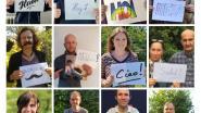 Agnetencollege steekt leerlingen hart onder de riem met fotocollage