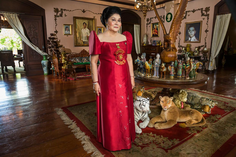 Imelda Marcos in The Kingmaker.  Beeld