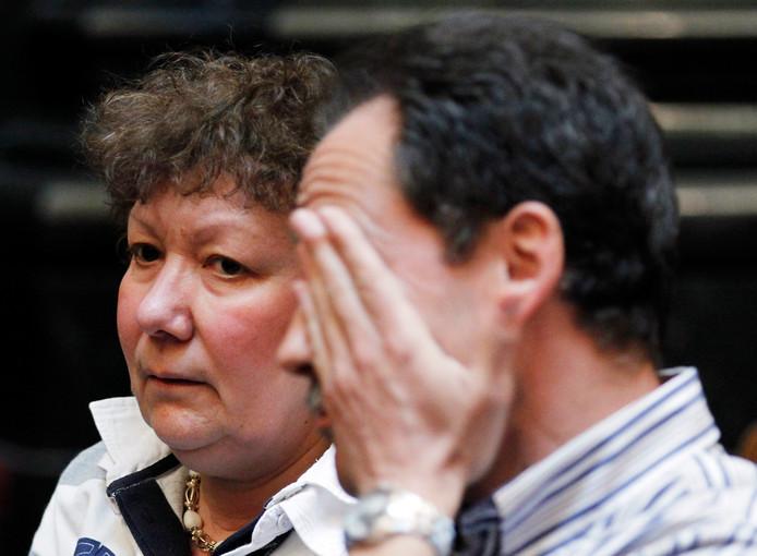 De ouders van Kitty Van Nieuwenhuysen tijdens het proces in 2011.