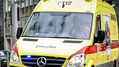 Voetganger gegrepen door vrachtwagen in Rumbeke