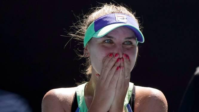 Muguruza en Kenin staan in de finale van Australian Open, Amerikaanse verslaat thuisfavoriete Barty