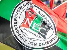 Container met nieuw wedstrijdshirt NEC haalt Open Dag niet