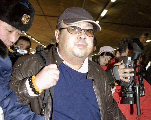 Kim Jong-nam in Peking in China op 11 februari 2007.