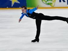 Kunstschaatser Kennes elfde op korte kür in Oberstdorf