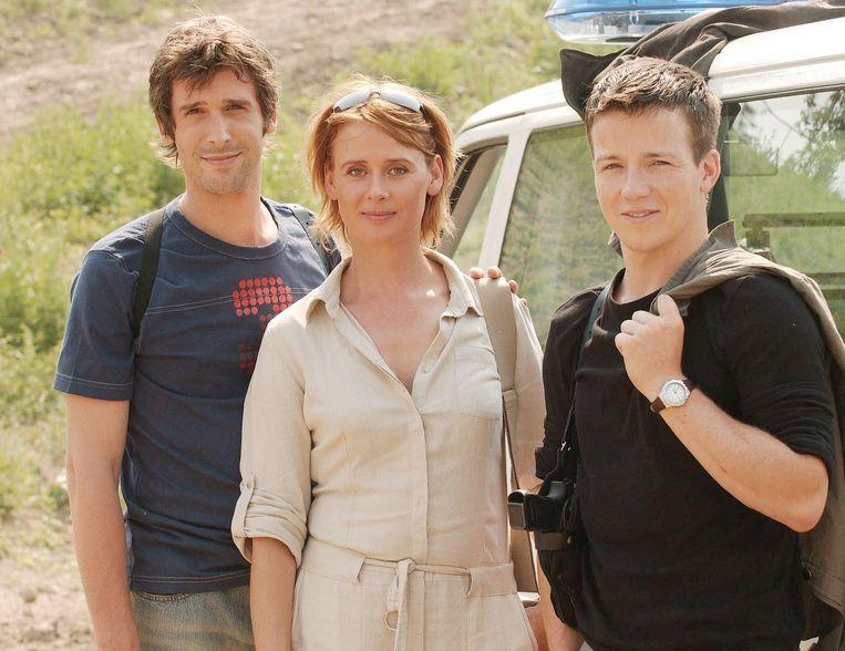 Johan Terryn , Hilde Heijnen en Tim Van Hoecke speelden de hoofdrollen in 'Rupel'.