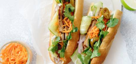Wat Eten We Vandaag: Vietnamese baguette met buikspek, ham en paté