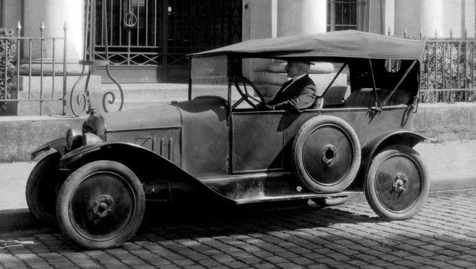 Een van de eerste Citroëns: de Type A uit 1919
