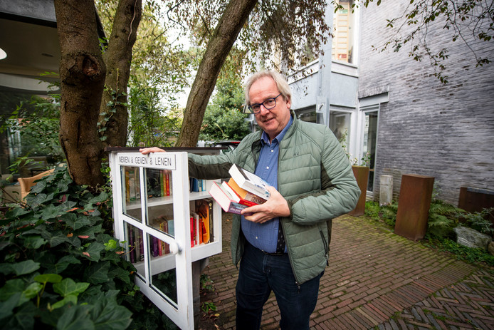 Arie-Jan Arbouw wil als pensionado in Almelo wonen.
