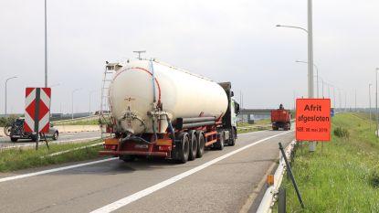 E34 in Moerbeke krijgt geluidsarm asfalt