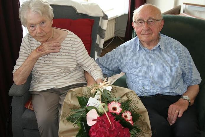 Hennie en Mini Kroeze: 60 jaar getrouwd.