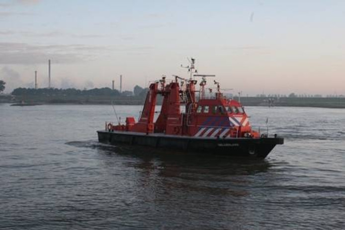 De blusboot Gelderland.