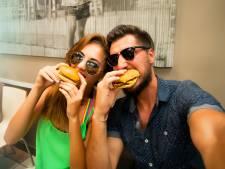 Vier Valentijnsdag eens met een hamburger
