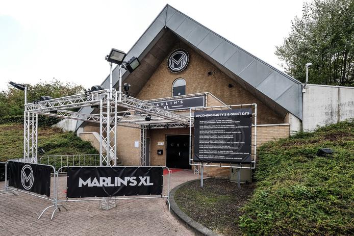 In het pand van de voormalige jongerensoos Wip-Inn zat korte tijd discotheek Marlin's XL. Foto: Jan Ruland van den Brink