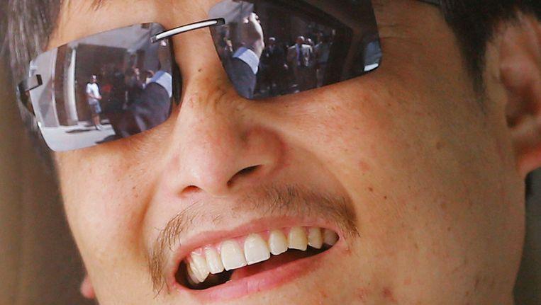 De Chinese activist Chen Guangcheng. Beeld afp