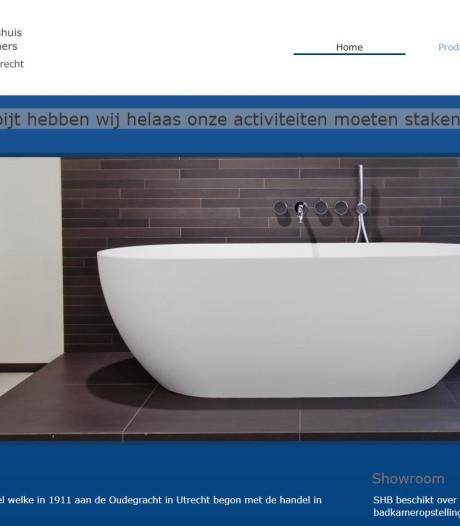Utrechts familiebedrijf Stichts Handelshuis Badkamers failliet