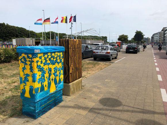 30 elektriciteitskasten in Bredene krijgen een leuk jasje