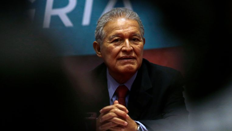Sanchez Ceren, president van El Salvador.