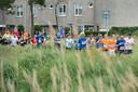Pix4Profs-Ron Magielse deelnemers aan de 10 km tijdens haagse beemdenloop ter hoogte van de westerhagelaan