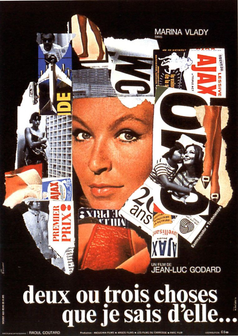 Affiche voor Deux ou trois choses que je sais d'elle (1967) Beeld