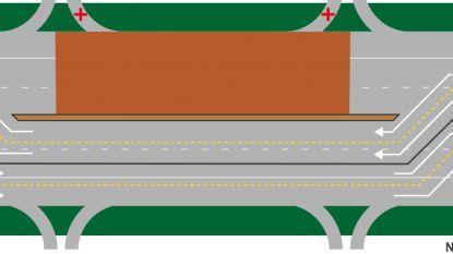 Maandag starten wegenwerken op E19: maand lang hinder tussen Sint-Job en Kleine Bareel