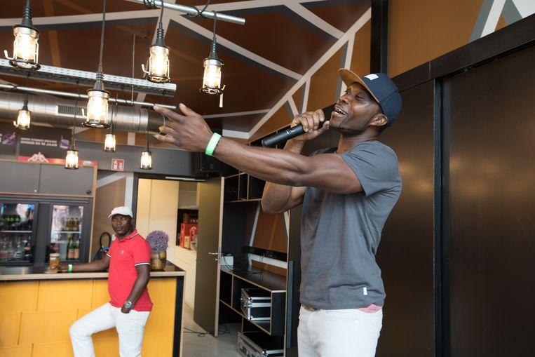 Eerste Africa international festival in Bilzen
