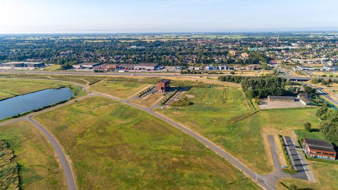 De locatie waar de Family Fun Zone in Steenwijk zou moeten komen. Archieffoto