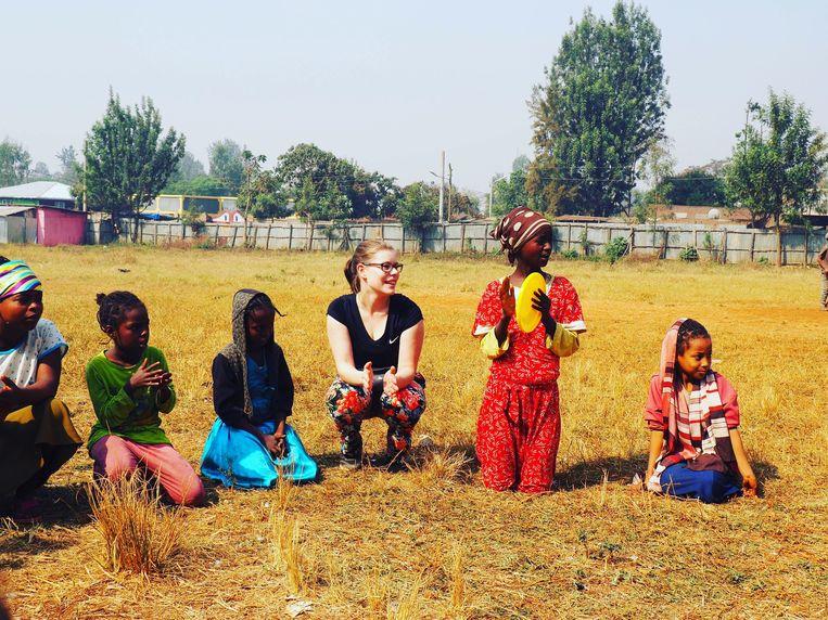 Laura Maes trok naar Ethiopië en begeleidde er onder meer een aantal counselingsessies.