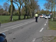 Veel schade aan voertuigen na botsing bij Ulft