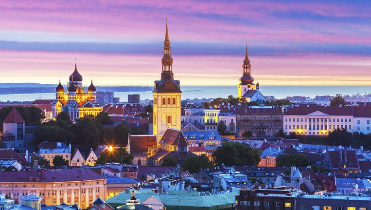 Tallinn, de hoofdstad van Estland Beeld thinkstock