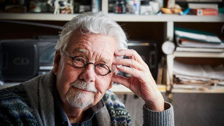 Rechtbanktekenaar Chris Roodbeen overleed maandag op 87-jarige leeftijd na een kort ziekbed. Beeld anp