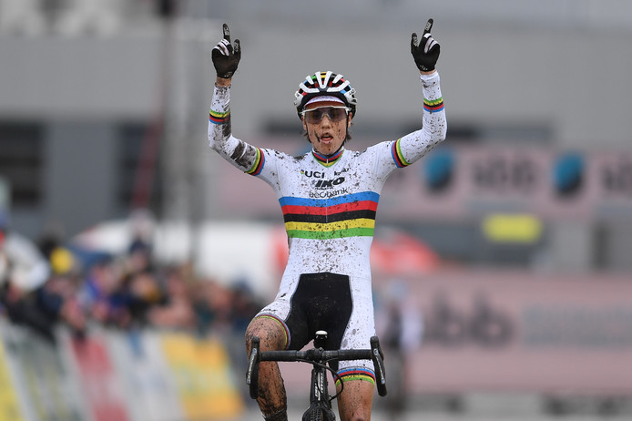 Sanne Cant is weer de beste.