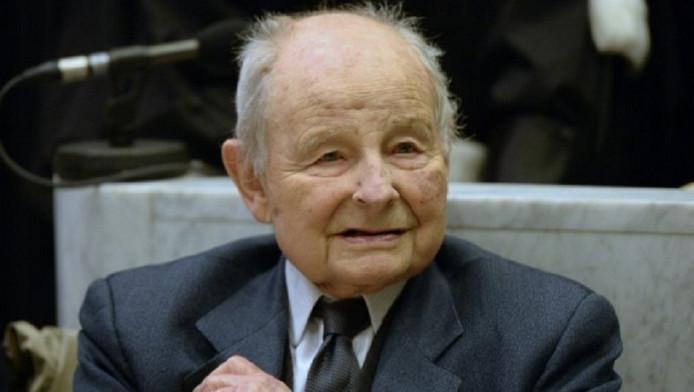 Jacques Servier, stichter van bedrijf Servier Laboratoires.