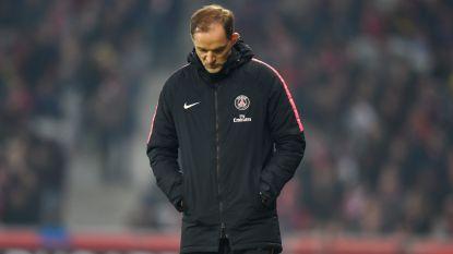 """PSG-coach Tuchel haalt uit naar eigen spelers na nieuw verlies: """"We mogen blij zijn dat het niet weer 5-1 werd"""""""