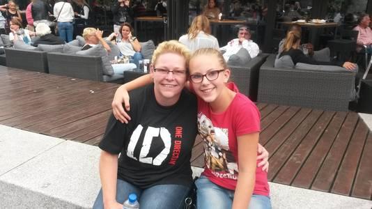Daphne en haar moeder gaan samen naar het concert van One Direction.