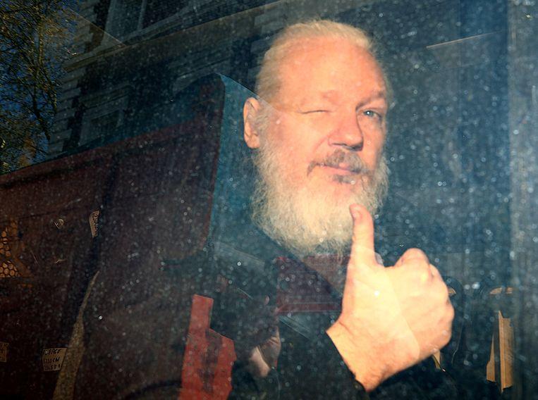 WikiLeaks-oprichter Julian Assange werd op 11 april opgepakt.