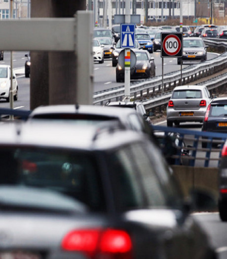 Utrechtsebaan afgesloten vanwege spoedreparatie