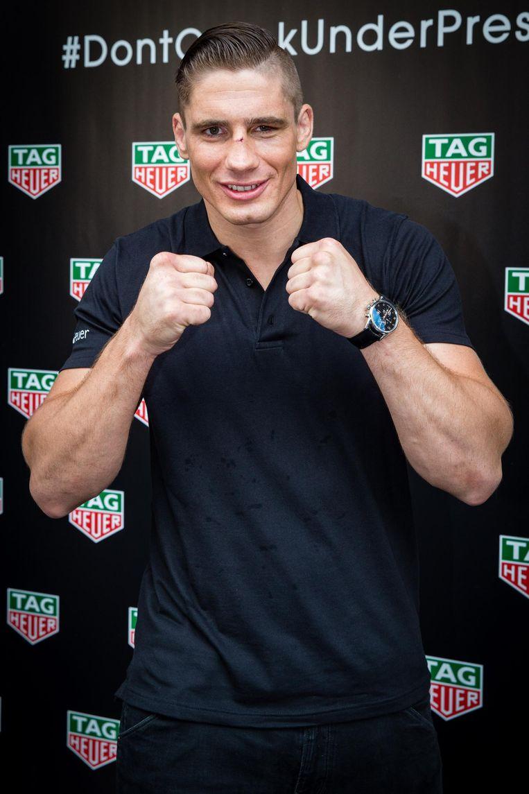 Rico Verhoeven, wereldkampioen kickboksen en trainingspartner van Tyson Fury. Beeld anp